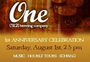 Join Us for oour 1st Aniversary Celebration!